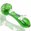 Chameleon Glass Lucky Charm Pipe - Green - Retro Active Smoke Shop  - 1