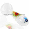 Chameleon Glass Reggae Sunsplash Pipe - White - Retro Active Smoke Shop