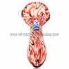Chameleon Glass Rock & Roll Hand Pipe - Pink - Retro Active Smoke Shop  - 3