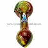 Chameleon Glass Rastalized Hand Pipe - Retro Active Smoke Shop  - 2