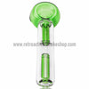 Chameleon Glass Monsoon Water Filtered Handpipe - Green - Retro Active Smoke Shop  - 2