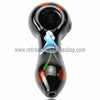 Chameleon Glass Bing-er Cherry Hand Pipe - Onyx - Retro Active Smoke Shop  - 2