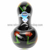 Chameleon Glass Bing-er Cherry Hand Pipe - Onyx - Retro Active Smoke Shop  - 3