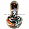 Chameleon Glass Fire In the Sky Pipe - Onyx - Retro Active Smoke Shop  - 3