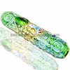 Chameleon Glass Kobaya Ashi Maru Steamroller - Green - Retro Active Smoke Shop  - 1