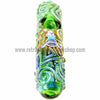 Chameleon Glass Kobaya Ashi Maru Steamroller - Green - Retro Active Smoke Shop  - 2