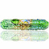Chameleon Glass Kobaya Ashi Maru Steamroller - Green - Retro Active Smoke Shop  - 3