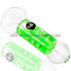 Chameleon Glass Absolute Zero Coil Condenser Pipe - Green - Retro Active Smoke Shop  - 1