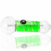 Chameleon Glass Absolute Zero Coil Condenser Pipe - Green - Retro Active Smoke Shop  - 2