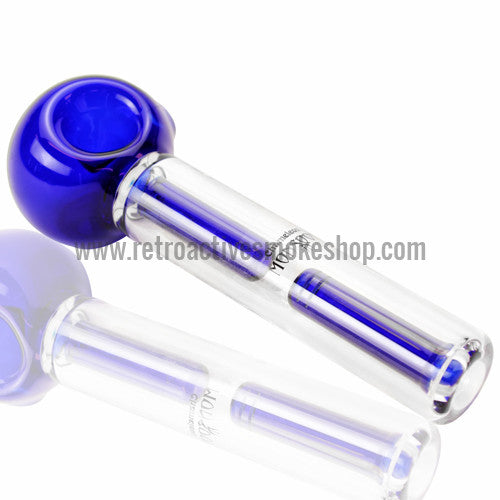 Chameleon Glass Monsoon Water Filtered Handpipe - Blue - Retro Active Smoke Shop