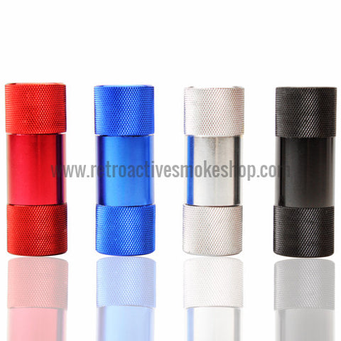 RASS 5-Piece Anodized Pollen Press - Retro Active Smoke Shop