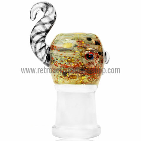 Empire Glassworks Abstract Oil Dome - 18mm - Retro Active Smoke Shop