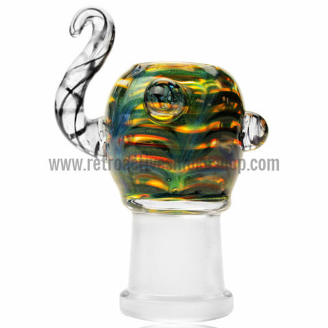Empire Glassworks Tunnel Vision Oil Dome - 18mm - Retro Active Smoke Shop