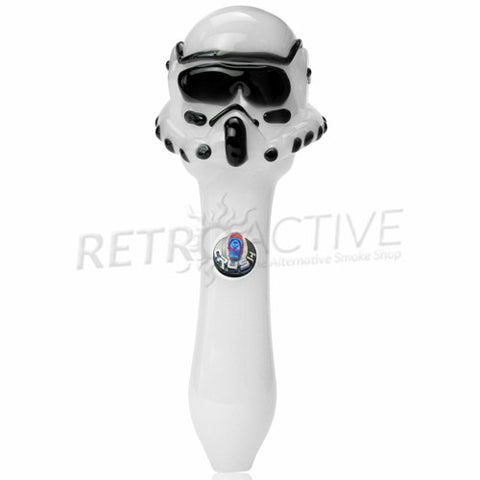 The Crush Glass Clone Trooper Star Wars Inspired Hand Pipe - Retro Active Smoke Shop  - 1