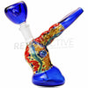 [product type] - (CLEARANCE) GlassEx Leaning Inside Out Dichro Bubbler - Retro Active Smoke Shop