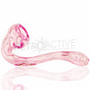 Dynomite Glass Lil Pink Inside-Out Sherlock - Retro Active Smoke Shop  - 3