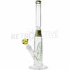 "[product type] - (CLEARANCE) Phat Tubz 16"" Mini Slugger Bong - Rasta - Retro Active Smoke Shop"