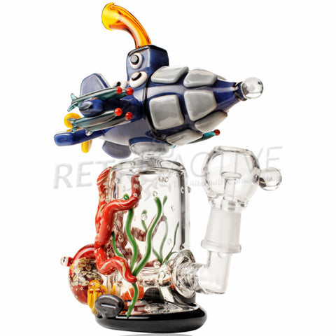 Empire Glassworks Limited Edition Tiered Attack Submarine Rig - Retro Active Smoke Shop  - 1