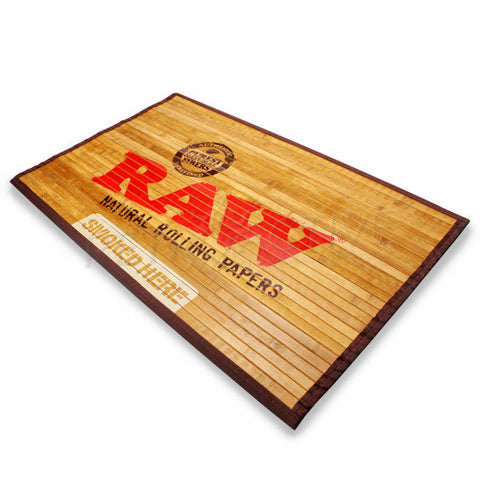 Raw Bamboo Floor Mat