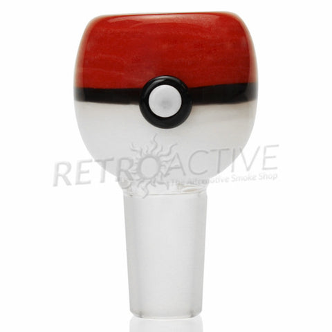 Empire Glassworks Pokeball Bowl - 14mm