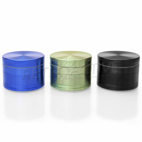 "RASS 2.2"" 4pc Solid Top Metal Grinder"