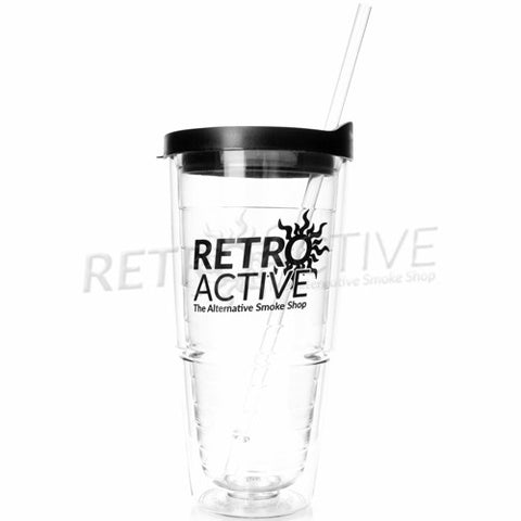 Retro Active Smoke Shop 24oz Tumbler