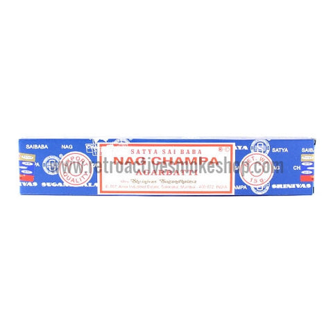Satya Nag Champa Incense Sticks 15g Box - Original - Retro Active Smoke Shop