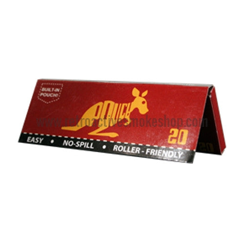 [product type] - (CLEARANCE) Pouch 1 1/4 Rolling Papers - Retro Active Smoke Shop