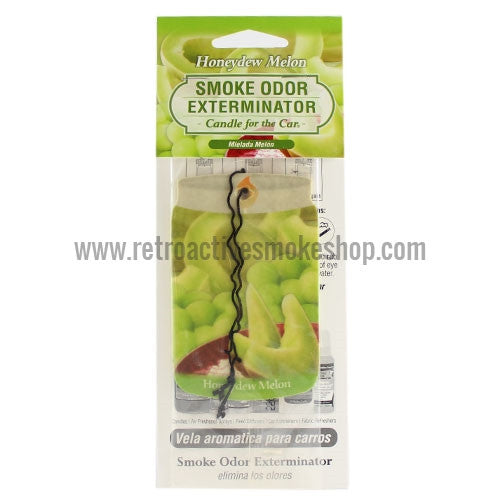 Smoke Odor Exterminator Car Air Freshener - Honeydew Melon - Retro Active Smoke Shop