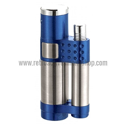 Vector Stratos Jet Torch Lighter - Sparkle Blue - Retro Active Smoke Shop