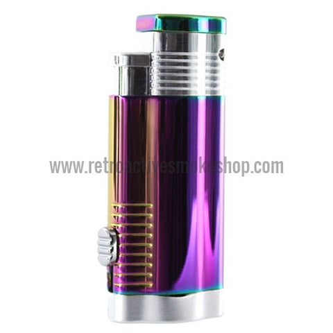 Vector Trimax Triple Jet Torch Lighter - Prizm - Retro Active Smoke Shop