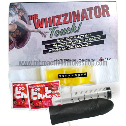 Whizzinator Touch Synthetic Urine Kit - Black - Retro Active Smoke Shop