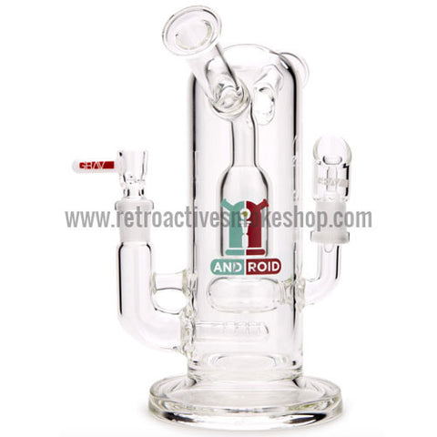 Grav Labs Android Dual Function Waterpipe and Dab Rig - Retro Active Smoke Shop  - 1