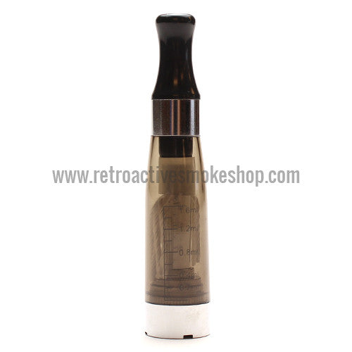RASS eGo CE4 Clearomizer - Black - Retro Active Smoke Shop  - 1