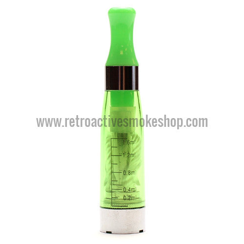 RASS eGo CE4 Clearomizer - Green - Retro Active Smoke Shop  - 1