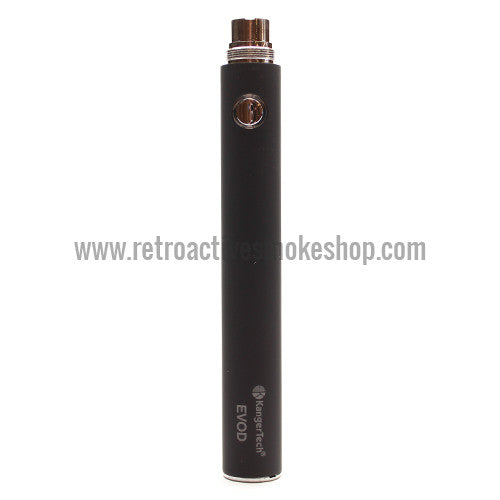 Kanger EVOD 1000mAh Battery - Black - Retro Active Smoke Shop