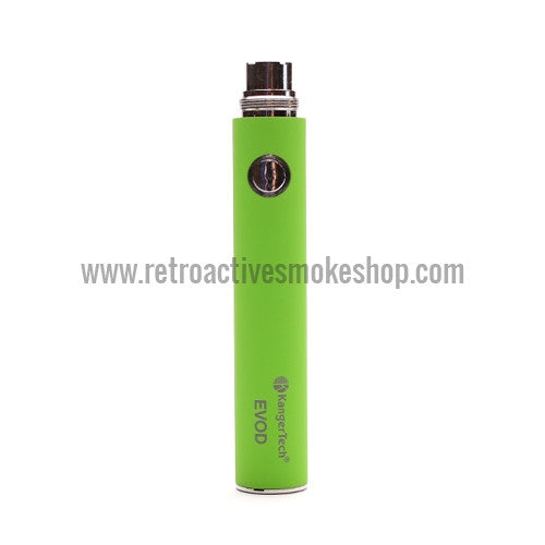 Kanger EVOD 650mAh Battery - Green - Retro Active Smoke Shop