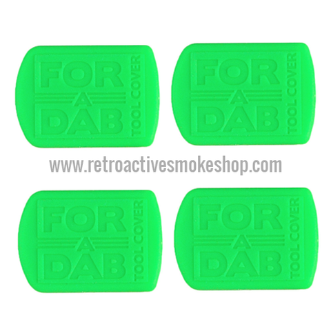 For-A-Dab Non-Stick Tool Covers (4-Pack) - Green - Retro Active Smoke Shop  - 1