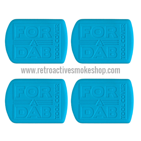 For-A-Dab Non-Stick Tool Covers (4-Pack) - Blue - Retro Active Smoke Shop  - 1