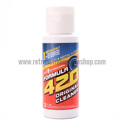 Formula 420 Glass Cleaner - 2 oz. - Retro Active Smoke Shop
