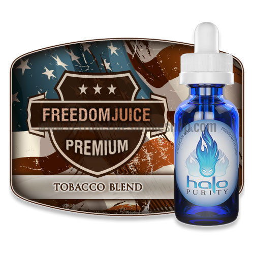 [product type] - (CLEARANCE) Halo Premium E-Liquid Freedom Juice - 30ml - 0mg/ml - Retro Active Smoke Shop