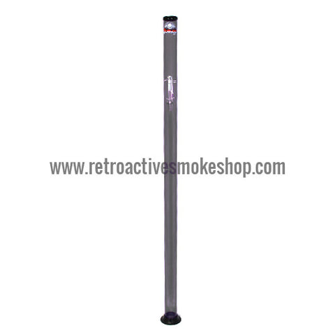 "Headway Big Boy 72"" (6 ft) Acrylic Waterpipe - Black - Retro Active Smoke Shop"