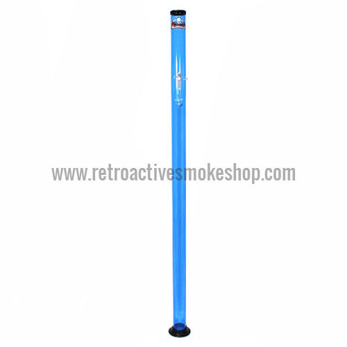 "Headway Big Boy 72"" (6 ft) Acrylic Waterpipe - Blue - Retro Active Smoke Shop"
