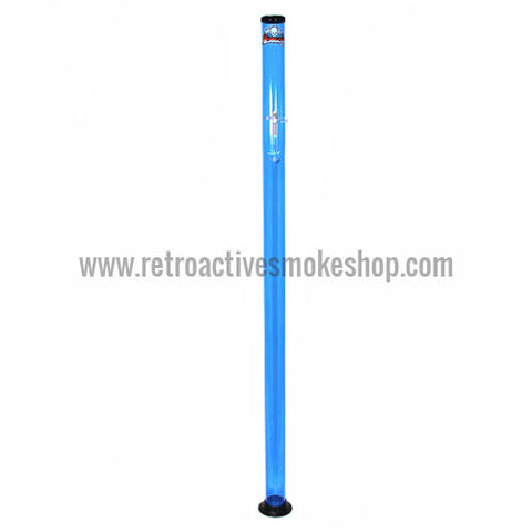 "Headway Big Boy 60"" (5 ft) Acrylic Waterpipe - Blue - Retro Active Smoke Shop"