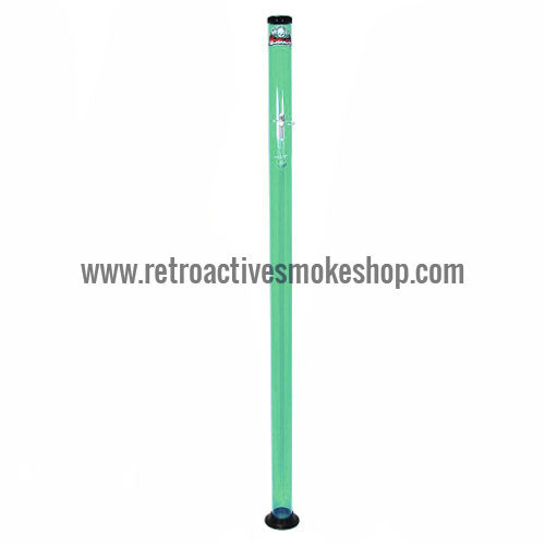 "Headway Big Boy 72"" (6 ft) Acrylic Waterpipe - Green - Retro Active Smoke Shop"