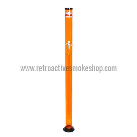 "Headway Big Boy 60"" (5 ft) Acrylic Waterpipe - Orange - Retro Active Smoke Shop"