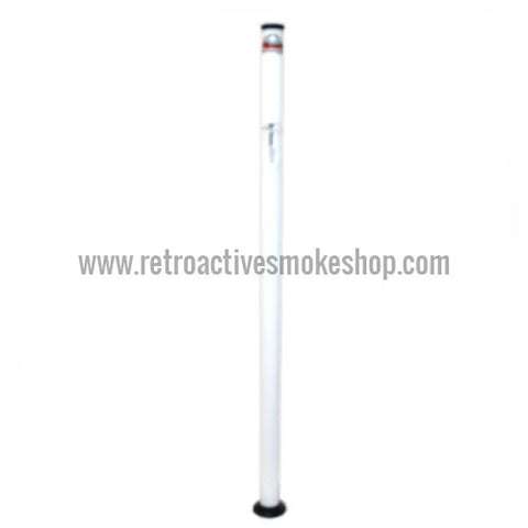 "Headway Big Boy 60"" (5 ft) Acrylic Waterpipe - White - Retro Active Smoke Shop"