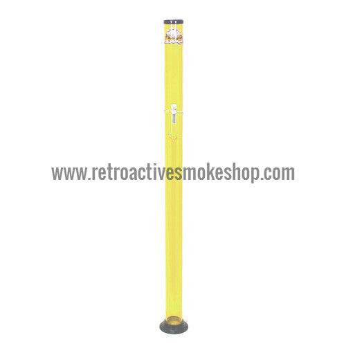 "Headway Big Boy 48"" (4 ft) Acrylic Waterpipe - Yellow - Retro Active Smoke Shop"