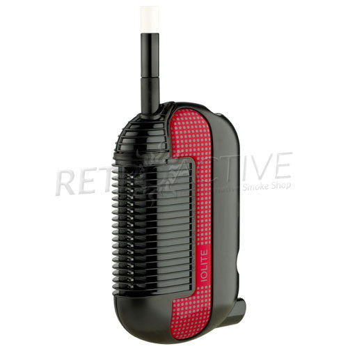 [product type] - (CLEARANCE) IOLITE Original Portable Vaporizer - Red - Retro Active Smoke Shop
