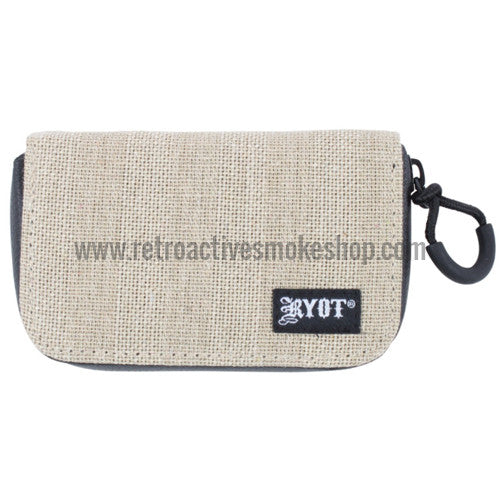 RYOT SmellSafe™ Krypto-Kit Pipe Case - Natural - Retro Active Smoke Shop  - 1